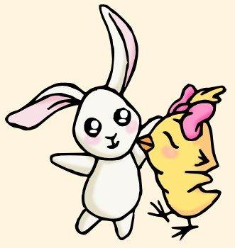 Chick & Doudou dans Personnages/Caracters doudou-+-chick