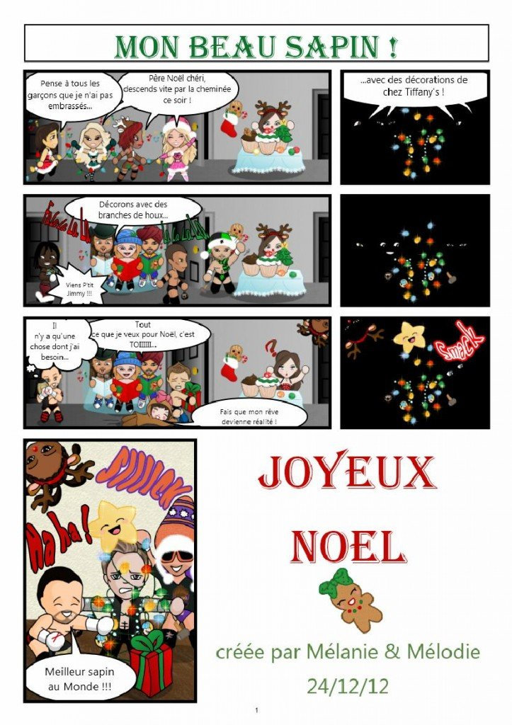 BD/Comic #3 - Mon beau Sapin/Oh Christmas Tree dans BD/Comics